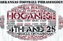 Arkansas Football Phraseology: Targeting