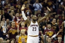 LeBron James opens outside top 3 in 2017-18 NBA MVP odds
