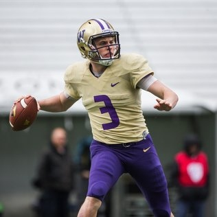 UW's Jake Browning named to Manning Award watch list