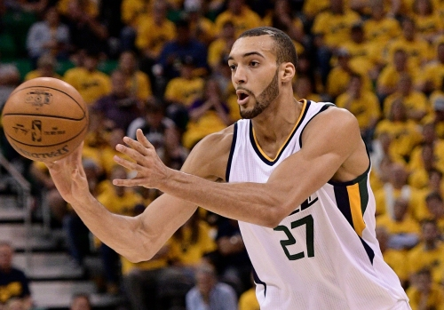 Rudy Gobert is ready to lead his Utah Jazz: