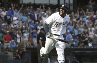 Brewers power past Pirates, hit 5 home runs in 7-6 win