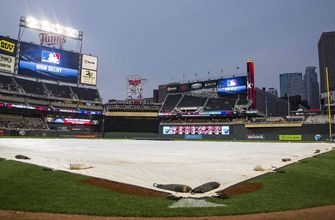 Indians-Twins postponed by rain, split doubleheader Thursday