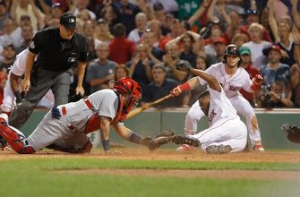 Cards fall to Red Sox 5-4 after eventful ninth inning