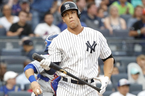 Aaron Judge ties an ignominious MLB record