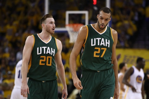 The Downbeat: Rudy Gobert is Over Gordon Hayward