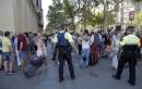 Van plows into crowd in Barcelona; Police view it as terror