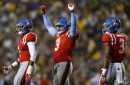 Breeland Speaks and Marquis Haynes are hungry at Ole Miss football practice