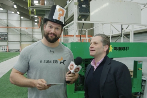 Joe Thomas Unleashed - On the Osweiler/Kizer Competition, Run Game and Hue Jackson