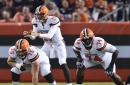 Browns' Joel Bitonio and Cam Erving will miss time with injuries