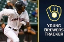 Injury derails Brewers prospect Brinson's minor-league season