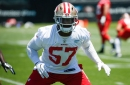 Eli Harold got first team SAM reps over Ahmad Brooks on Thursday