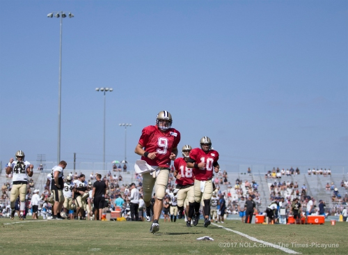 Drew Brees on Thursday's practice with Chargers: 'I didn't think we were real sharp today'