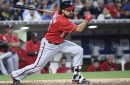 Washington Nationals' lineup for tonight's series opener with the San Diego Padres...