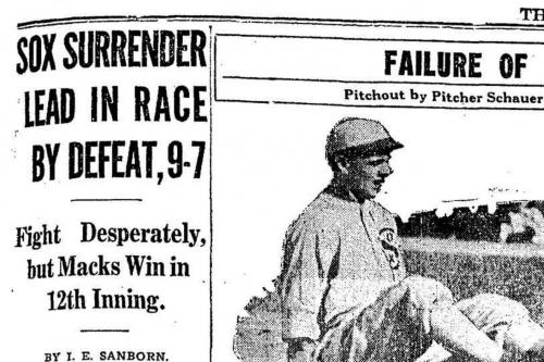 Sox Century: Aug. 17, 1917