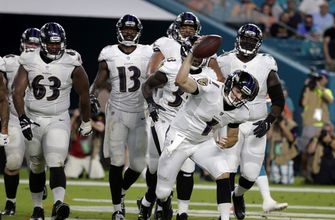 Cutler debuts, but Ravens roll past Dolphins 31-7 (Aug 17, 2017)