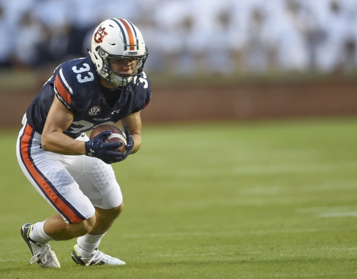 Auburn awards scholarships to 2 walk-on wide receivers