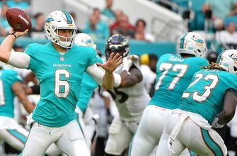 Jay Cutler makes Dolphins debut in preseason loss to Ravens