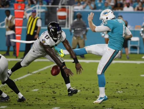 Cutler debuts, but Ravens roll past Dolphins 31-7 The Associated Press