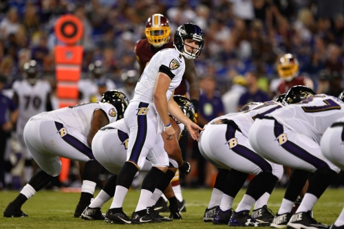 Ravens QB Josh Woodrum is making a case for a roster spot