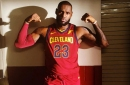 Look: LeBron James shares photo of himself in new Cavs jersey