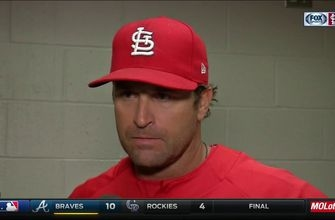 Matheny says Cardinals are sending Waino home for arm soreness