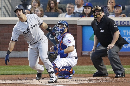 Gary Sanchez puts on offensive show as Yankees sweep Mets