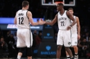 """Caris LeVert: Playoffs """"really realistic;"""" Joe Harris: Nets """"going in right direction"""""""