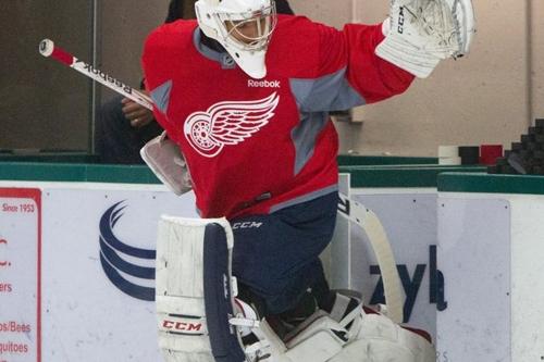 Detroit Red Wings 25 Under 25: Joren Van Pottelberghe is #23