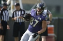 Ravens tight end group produces great results against the Dolphins