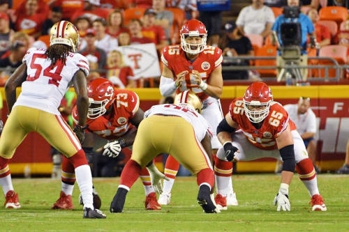 Chiefs starting offensive line is off to a great start in the preseason