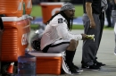 Raiders' Marshawn Lynch avoids questions about national anthem protest