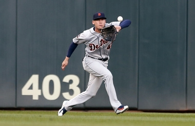 Tigers bringing up outfielder JaCoby Jones to fill bench spot
