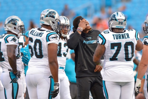Cam Newton not expected to play this weekend for Panthers-Titans