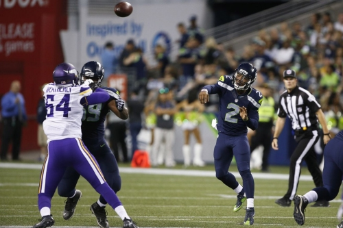 Seahawks-Vikings 2017 NFL preseason: Kickoff time, TV schedule, radio, live streaming, and more