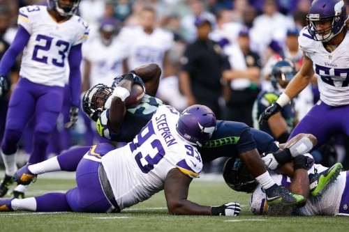 NFC Northwest? Seahawks and Vikings have played 4 times since December 2015
