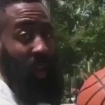 James Harden breaks out creativity for Drive By Dunk Challenge