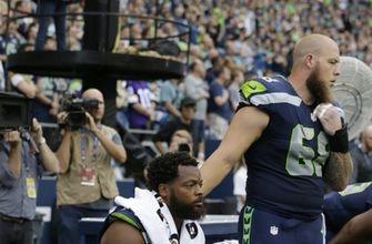 Seahawks DE Bennett sits again during national anthem