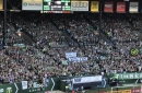 Timbers Army unveils banners condemning Donald Trump's 'blame on both sides' statements