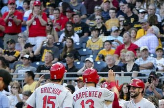 Carpenter homers, Cardinals outlast Pirates 11-10 (Aug 18, 2017)