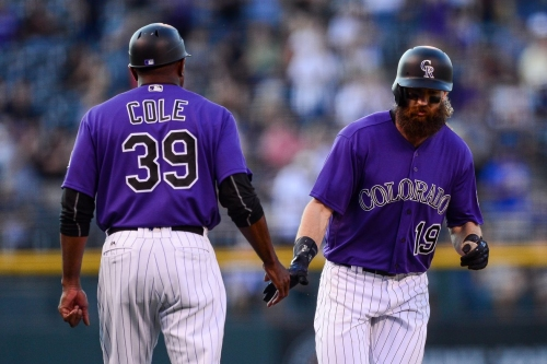 Charlie Blackmon homers as Rockies defeat Brewers 8-4
