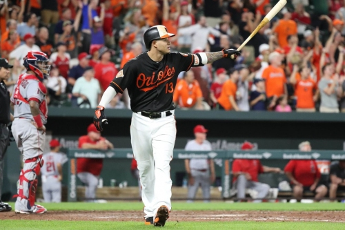 Orioles take down Angels in opener, 9-7, after Manny Machado's walkoff grand slam