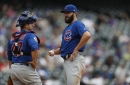 Cubs fans boo Miguel Montero, but Jake Arrieta invites him for a drink