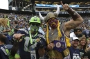 PHOTOS: Vikings at Seahawks