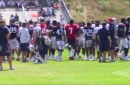 Texans, Patriots share peaceful end to joint practice ahead of Saturday's game