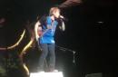Ed Sheeran rocks Mavericks jersey at Dallas concert