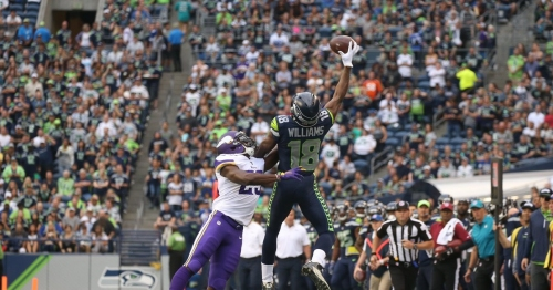 Seahawks WR Kasen Williams has another big night, this time against Minnesota