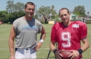 WATCH: Drew Brees vs. Philip Rivers in QB Trick Shot Challenge