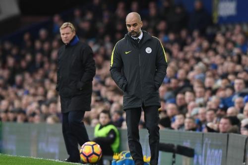How should Manchester City line up on Monday's Premier League match against Everton?