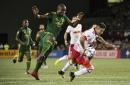 Allen Chapman assists Timbers for Three points