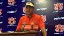 Auburn coach Gus Malzahn after the 3rd preseason scrimmage this month